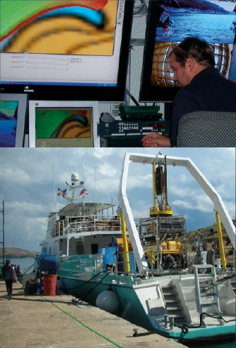 INA has been part of the team led by the RPM Nautical Foundation that discovered the bow of the vessel Volage