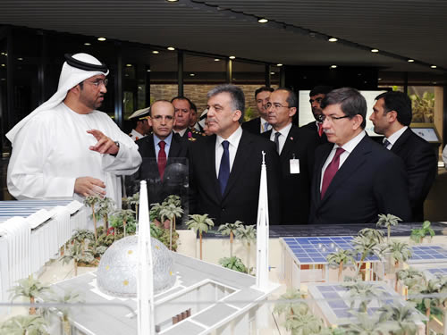 Gül Indicates Robust Bilateral Relations between Turkey and the UAE