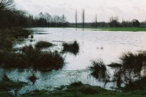 Southwwod Golf Course turned into a lake winter 2001/02
